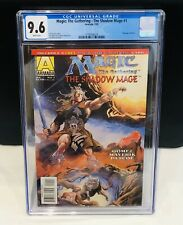 Magic The Gathering The Shadow Mage #1 Comic CGC 9.6 1st App Magic The Gathering