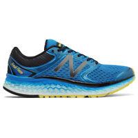 New Balance Fresh Foam 1080v7 Men's Road Running Shoe - Blue/Yellow, 2E Width