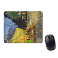 Van Gogh Cafe Terrace At Night Mouse Pad Computer Tablet PC Laptop Mice Mat