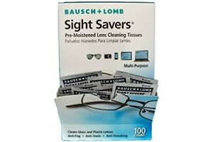 Bausch & Lomb Sight Savers Pre-Moistened Lens Cleaning Tissues - 100 ct.