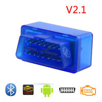 Bluetooth Mini OBD2 II  Auto Diagnostic Interface Scanner Tool for ELM327 V2.1