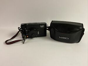 Vintage YASHICA  AUTO-FOCUS MOTOR CAMERA 38mm 1:28  Comes With Case, Batteries