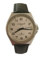 Le Cheminant 1822 Mens' Waterprotected Watch QA703 - Swiss Made