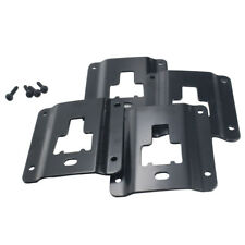 For Ford F150 Truck Bed Cargo Tie Down Brackets 4 Plates with Anti-Theft Screws
