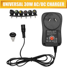 30W Power Supply Universal Adapter Converter AU Plug AC/DC 3V 4.5V 5V 6V 7.5V 9V