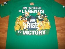 "Notre Dame Football 2013 ""The Shirt""  Rise To Victory Green T-Shirt Med New"