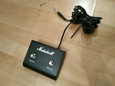 ORIGINAL MARSHALL GUITAR AMP AMPLIFIER DUAL FOOT SWITCH FOOTSWITCH REVERB