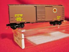 KD 20046 CHICAGO GREAT WESTERN 40' BoxCar 'LUCKY STRIKE'#5453 'NEW' N-SCALE