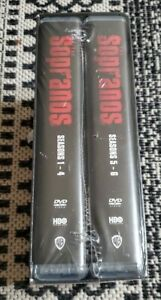 The Sopranos: The Complete Series (DVD Box Set) Seasons 1-6 New