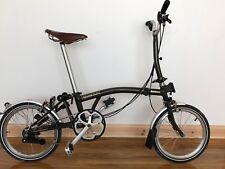 Brompton M6L BARBOUR LTD EDT bici pieghevole + borsa Barbour