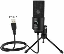 Fifine Metal USB Condenser Recording Microphone Studio Vocals Voice For PC (UK)