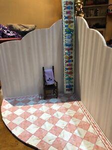 Dollhouse Miniature ROOM BOX multiple uses marble satin wallpaper 1/12 scale