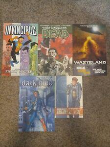 Invincible Vol 1 Tech Jacket Vol 1 Walking Dead Vol 5 Outsider Vol 6 Dark Blue