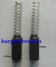 Spazzole DI CARBONE PER AEG ATLAS COPCO SANDER HBS65 HBSE 65 HBS6S HBSE 6 S 6.3X6.3 C18