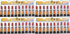 40 Tubes of  Super Glue - 'Cyanoacrylate Adhesive'  FREE SHIPPING USA SELLER