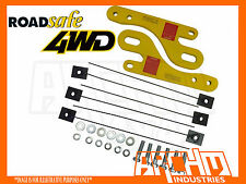 ROADSAFE PAIR OF HEAVY DUTY TOW POINTS-SUITS TOYOTA PRADO 150 SERIES