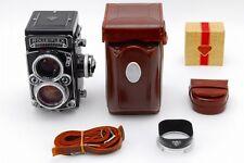 【Rare!!】 Rolleiflex 2.8E2 TLR Film Camera w/Planar 80mm f/2.8, Case, Hood #2685