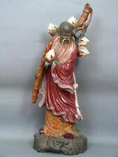 """Lladro Figur 57,5 cm """"Chinesischer Bauer"""" Jose Roig Figure Figurine um 1977"""