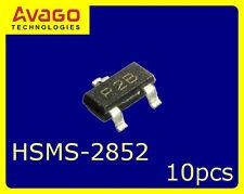 [10 pcs] HP/AVAGO HSMS-2852 Series Zero Bias Schottky Detector Diode
