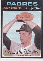 1971  DAVE ROBERTS - Topps Baseball Card # 448 - SAN DIEGO PADRES