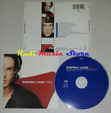 CD ESPEN LIND Red 1997 eu UNIVERSAL UND 86514 lp mc dvd (***)
