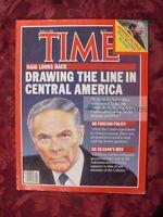 TIME Magazine April 2 1984 Apr 4/2/84 ALEXANDER HAIG EDWIN MEESE