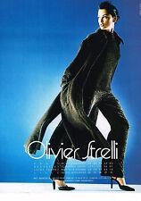 PUBLICITE ADVERTISING  1998   OLIVIER STRELLI   haute couture