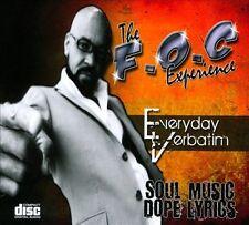 F.O.C Experience : Everyday Verbatim CD