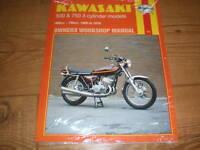 Manuel D'Atelier pour Kawasaki Kh500