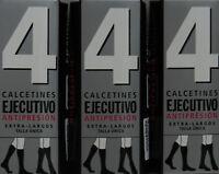 6 pares calcetines EJECUTIVO (Berkshire) largos puño relax 40 deniers. surtidos
