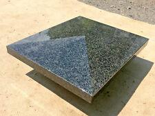Naturstein Mauerabdeckung schwarz Abdeckplatte Granit Dachprofil Platte Stein