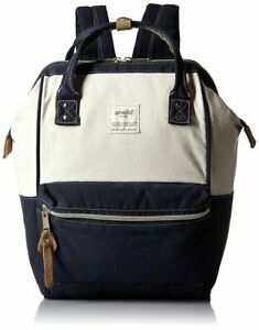 ANELLO - Cotton Canvas Hinged Clasp Mini Backpack AT-B0935B-CNV