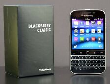 New BlackBerry Classic Q20 16GB Verizon GSM Unlocked 4G LTE Black Smartphone