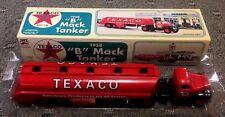 "1958 Texaco ""B"" Mack Toy Tanker Truck, JMT Replicas, Made in 1996"