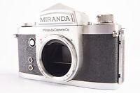 Vintage 1960 Miranda D 35mm SLR Film Camera Body TESTED V15