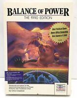 VINTAGE 1985 - COMMODORE AMIGA - MINDSCAPE ALERT BALANCE OF POWER - VIDEO GAME