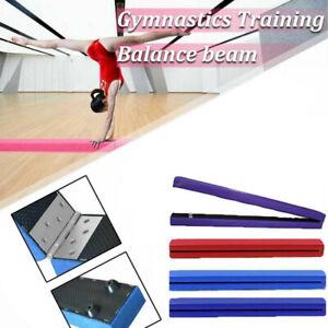 7FT Balance Beam Gym Gymnastics Bars Home Training Folding For Kids Child Adult