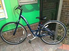 NEW Womens Fuji Crosstown LS Hybrid Bike 27.5 in wheels 15 in frame with rack