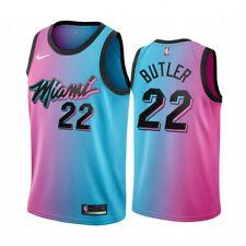 New Miami Heat #22 Jimmy Butler City version gradient Basketball Jersey