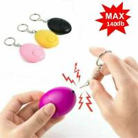 Safe Sound Personal Alarm 140db Keychain Loud Alert LED Light Self-Defense Siren