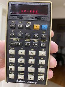 Hewlett-Packard HP-25E Panamatik Calculator - Mint Bundle - Rare