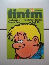 TINTIN L HEBDOPTIMISTE  n° 4  / AVEC CARDS + POSTER  CARTE DE FRANCE DU FOOTBALL