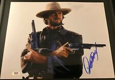 Clint Eastwood Signed Autograph Auto 11x14 Photo Outlaw Josey Wales PSA
