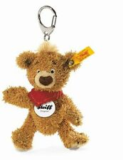 STEIFF Keyring Key Chain Designer Hand Bag Hanger KNOPF Teddy Bear New 014475