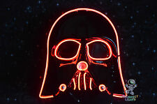 Star Wars RED DARTH VADER Rave Festival Party Cosplay EDC Halloween Costume Mask