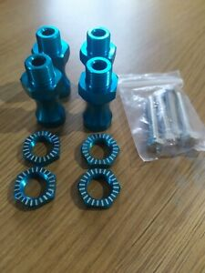 Rc car buggy 12mm To 17 mm hex hub conversion extenders wide track