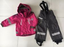 Didrikson Girls Kids Ski/Snowboard Jacket & Trousers Salopettes Ski Suit-Size 80