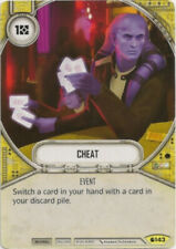 x2 Cheat 143 Uncommon Star Wars Destiny Spirit of Rebellion M/NM