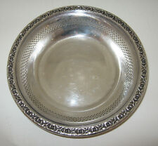 """REED & BARTON SILVER PLATE RETICULATED 6 1/4"""" DISH"""