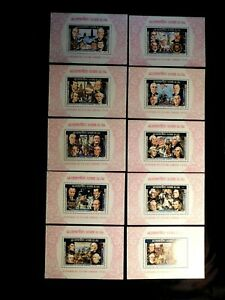 LAOS Stamp Set Scott 269-269I MNH